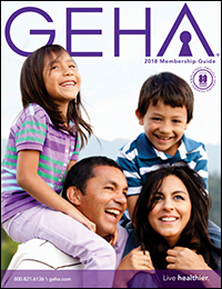 By clicking on this image, you will open a PDF of the 2017 GEHA Membership Guide for health members.
