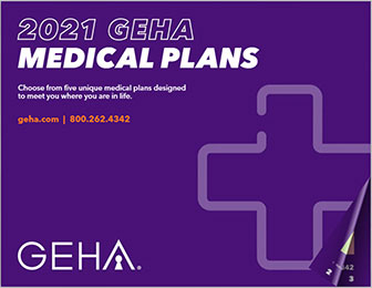 2021 geha medical benefits guide cover image